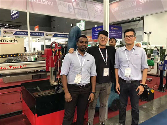 INTERMACH Trade Shows on the first day